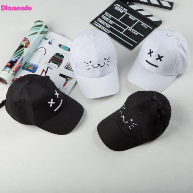 99f275eb2ad Baby Snapback Hats Boy Girl Baseball Caps Summer Smiling Sun Hat Adjustable  Kids Sunshade Hat Children