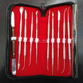Dental Lab Equipment Wax Carving Tools Set Surgical Dentist Sculpture Knife Instruments Tool Kit