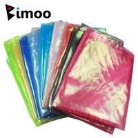 1MX1.2M Nieuwe Kristal Knipperende Holo Inktvis Jig Diy Mesh Doek Parel Groen Roze Blauw Geel Blauw Kleur