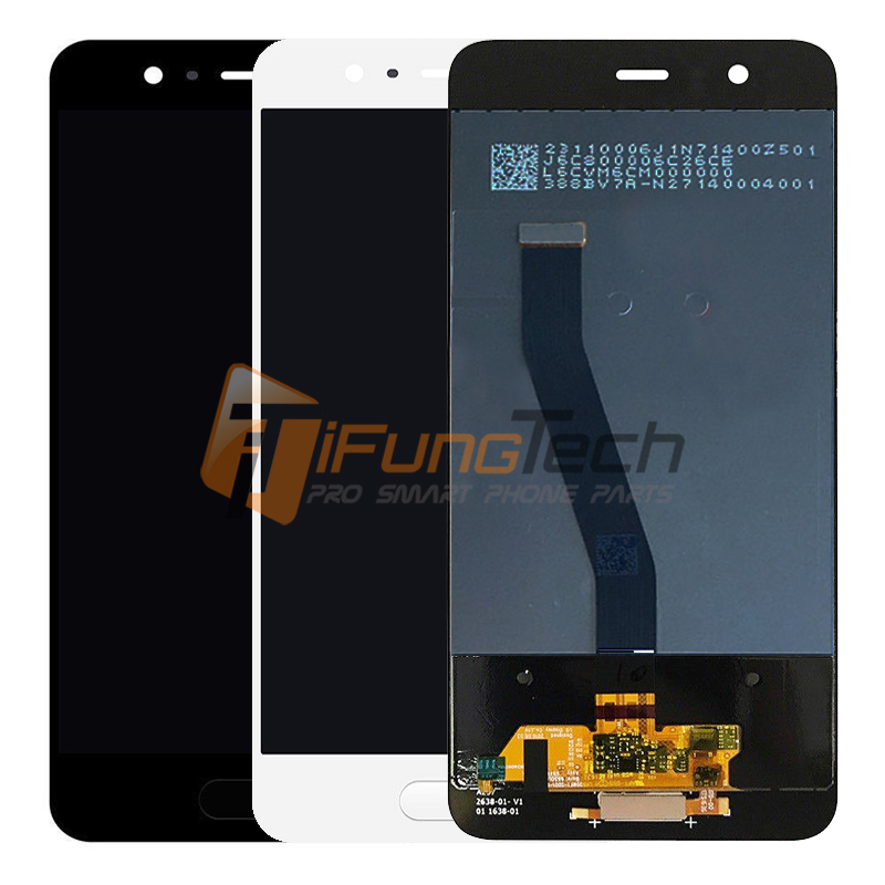 Original For Huawei P10 LCD screen display with touch digitizer assembly replacement 5.1'' black white gold with Free Shipping for huawei honor 7 lcd display touch screen digitizer with frame lcd display assembly replacement pantalla black white gold tool