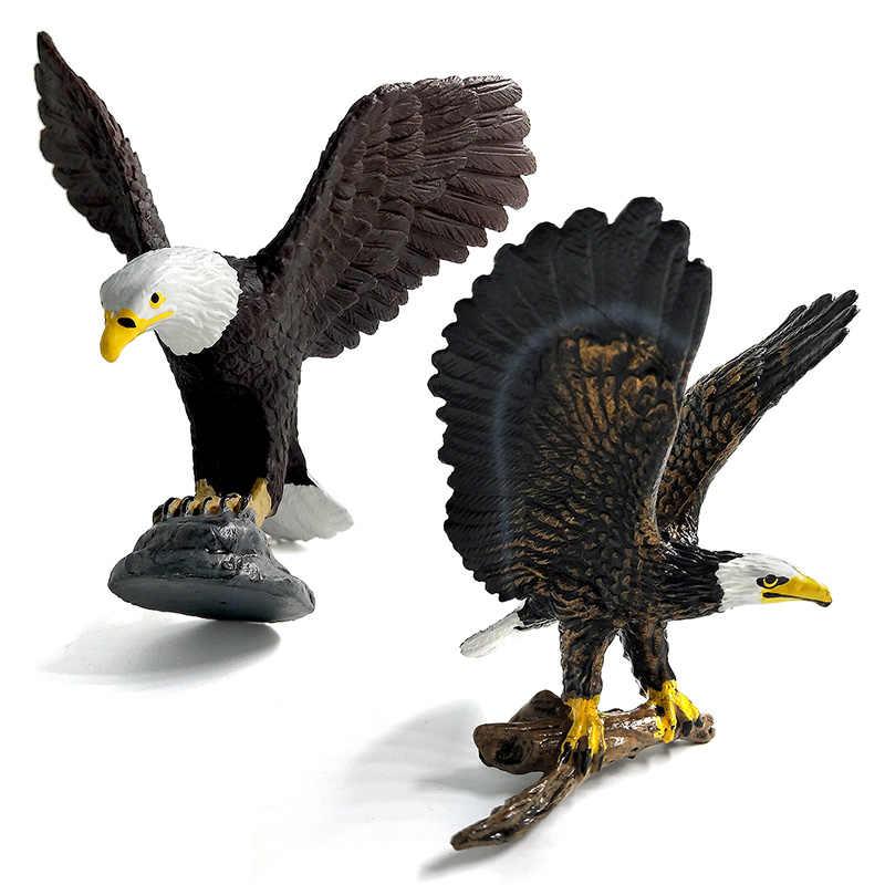 Brinquedos imperdível águia do mar, papagaio, peru, pássaro, figura de ação, modelo de plástico, animal, fada, jardim, estatueta de decoração, presente de peça única criança criança