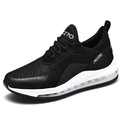 Brand New Running Shoes For Men Air Cushion Mesh Breathable Wear-resistant Hot 2019 Fitness Trainer Sport Shoes Male Sneakers Multan