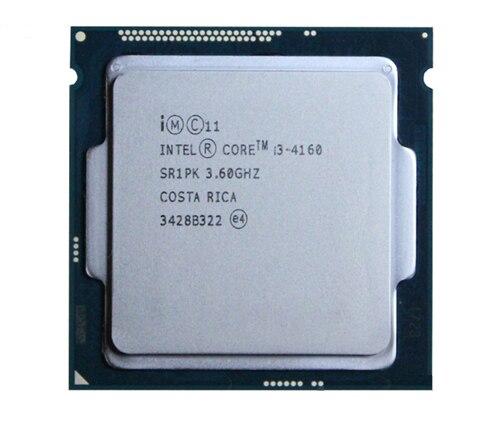 Новый оригинальный Intel Core i3 4170 3.70 ГГц Двухъядерный 3 МБ H3 Гнездо LGA 1150 22 нм 54 Вт