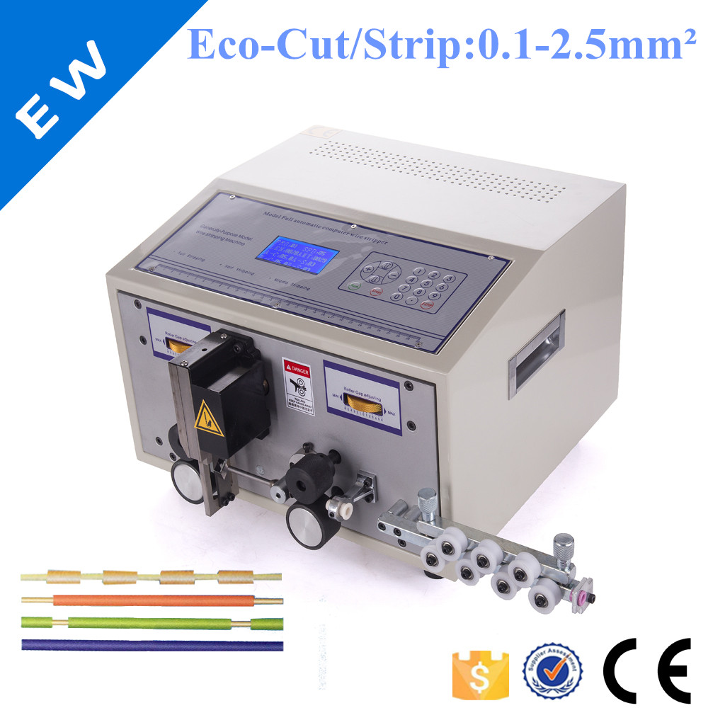 SWT 508C Computer automatic wire stripping machine SWT508C cutting cable crimping and peeling from 0.1 to 2.5mm2