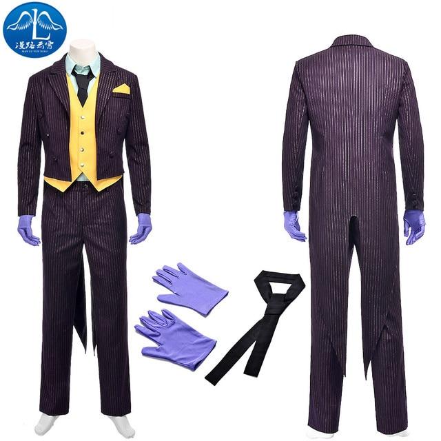 Asylum Traje Hombres Joker Batman Arkham Manluyunxiao Cosplay 8IqxSAAw
