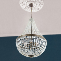 Bronze Crystal Chandelier Dinning Room Chandelier Light Lighting Free Shipping