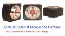 Discount! Free shipping,CE,5.0MP Aptina CMOS sensor USB2.0 digital microscope camera/ Digital eyepiece support XP/Vista/W7/W8/MAC