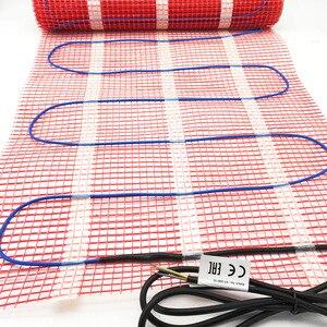 Image 3 - Minco calor 5 1515m2 gêmeo condutor kits de esteira de aquecimento por piso radiante sob telha piso quente