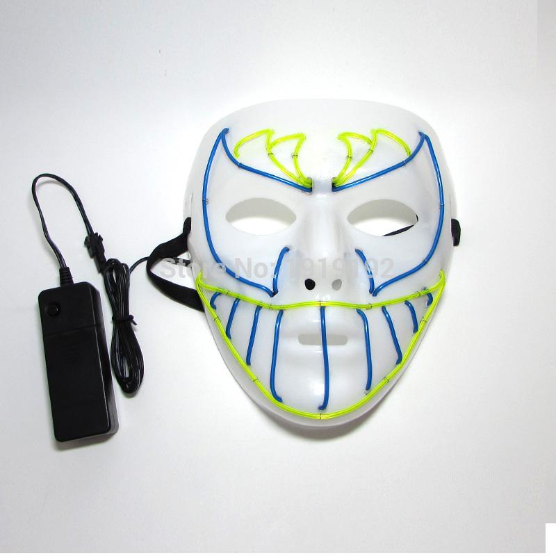 HTB16Fu9RVXXXXaJapXXq6xXFXXXY - Mask Light Up Neon LED Mask For Halloween Party Cosplay Mask PTC 260