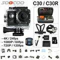 Soocoo c30/c30r action camera 4 k giroscópio wi-fi de visão ajustável ângulo de 170 Graus 2.0 LCD NTK96660 30 M ir pro Câmera À Prova D' Água