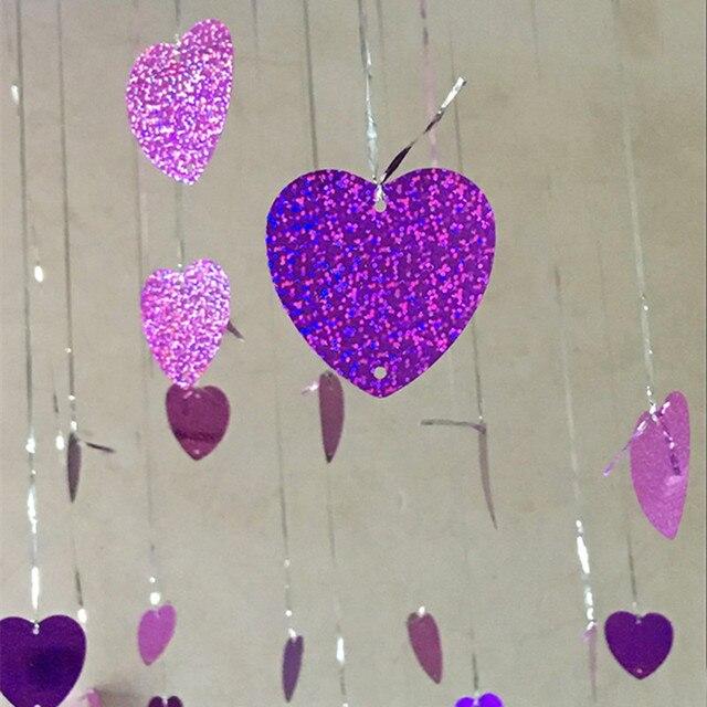 Herzförmigen Karte Liebe Anhänger Hochzeit Ehe Zimmer Anordnung Ballon  Hintergrund Wand Dekoration Valentinstag 100 Stücke