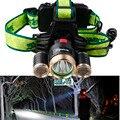 Portátil De alta Potência 3 LEVOU Faróis T6 + 2 * R2 Head lamp Luz 4 Modos de Bicicleta Da Bicicleta Da Equitação 6000 LumensLED Farol