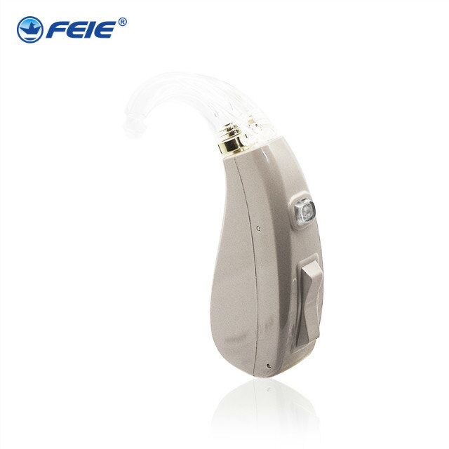 Newest High Quality BTE Digital Hearing Aid For Hearing Loss Mini Full Circuitry Hearing Aids Voice Amplifier MY-202 newest rechargeable hearing aid auidphones my 33 microphone amplifier to profound deaf aids a kit double pieces