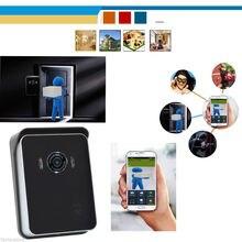 Chuangkesafe inalámbrica wifi cámara teléfono de la puerta del intercomunicador del timbre de seguridad para el hogar para iphone etc.