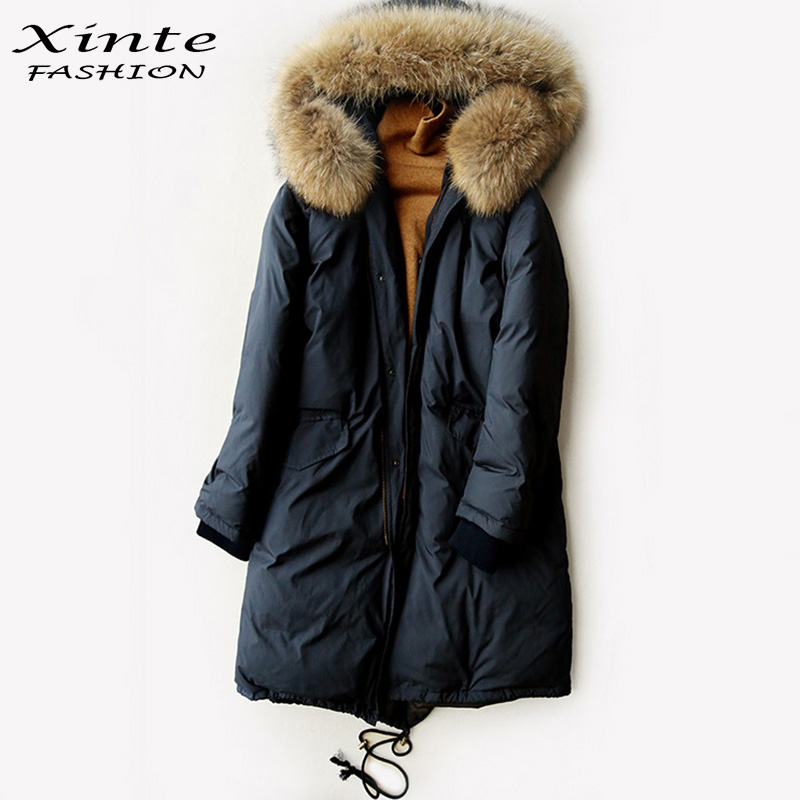 Aliexpress.com : Buy 2017 Women Down Coat Winter Jacket Parka Long ...