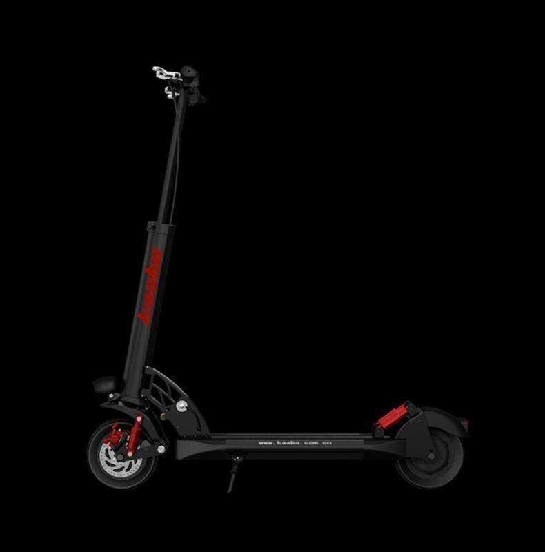 UE stock 2019 KWHEEL Skywalker 8 S única unidade 8 polegada sólida pneu dobrável scooter elétrico com 200x85 pneu