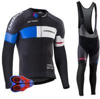 2017 Pro Team ORBEA Cycling Clothing Long Sleeves Autumn Thin Mem Cycling Jerseys MTB Bike Ropa