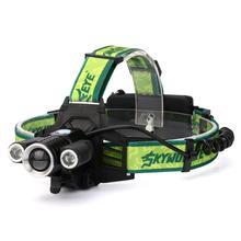 Yimistar # 4033x Охота 30 Вт 15000lm 3 * xm-l светодиодный налобный фонарик 18650 AC/Car Зарядное устройство батарея