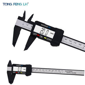 Tongfenglh Vernier-Caliper Digital 150mm Carbon-Fiber Electronic New The 6inch LCD 5301-Model