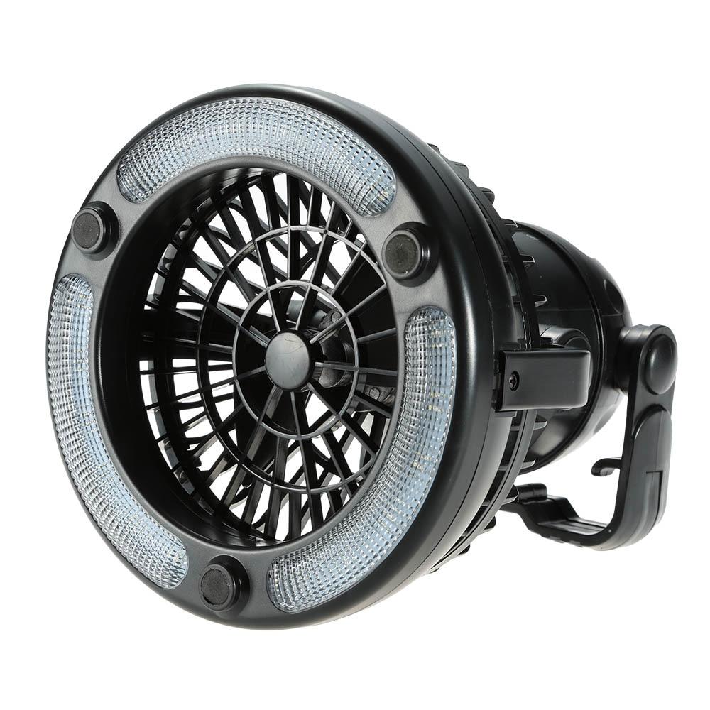 Camping Fan Light Off