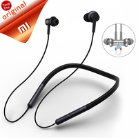 Original Xiaomi Bluetooth Neckband Collar Headset With Mic Xiaomi Sports Magnetic Earphone Mi Wireless Dynamic Running Headphone