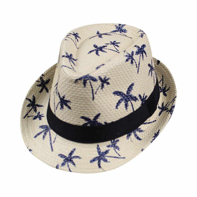 f61239cc62c 2018 Summer Holiday Hot Sale Fashion Floppy Foldable Hats Ladies Women Men  Maple Leaf Straw Beach