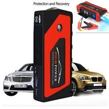 Novo multifunction jump starter 69800 mah 12 v 4usb 600a carregador de impulsionador bateria carro portátil banco potência dispositivo partida