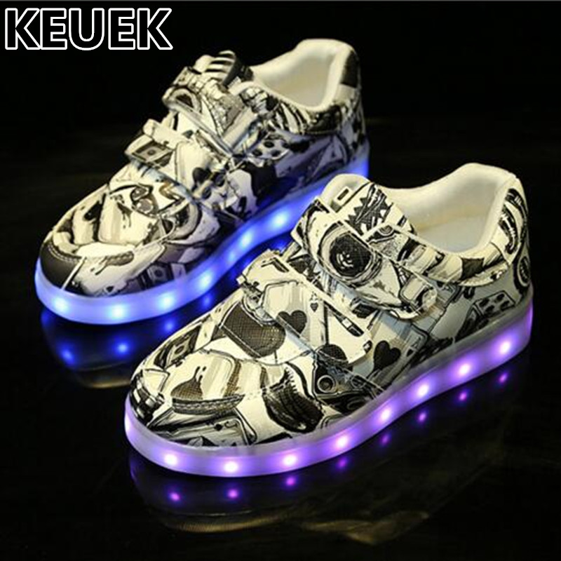 NEW Child Lighted Shoes Boys Girls