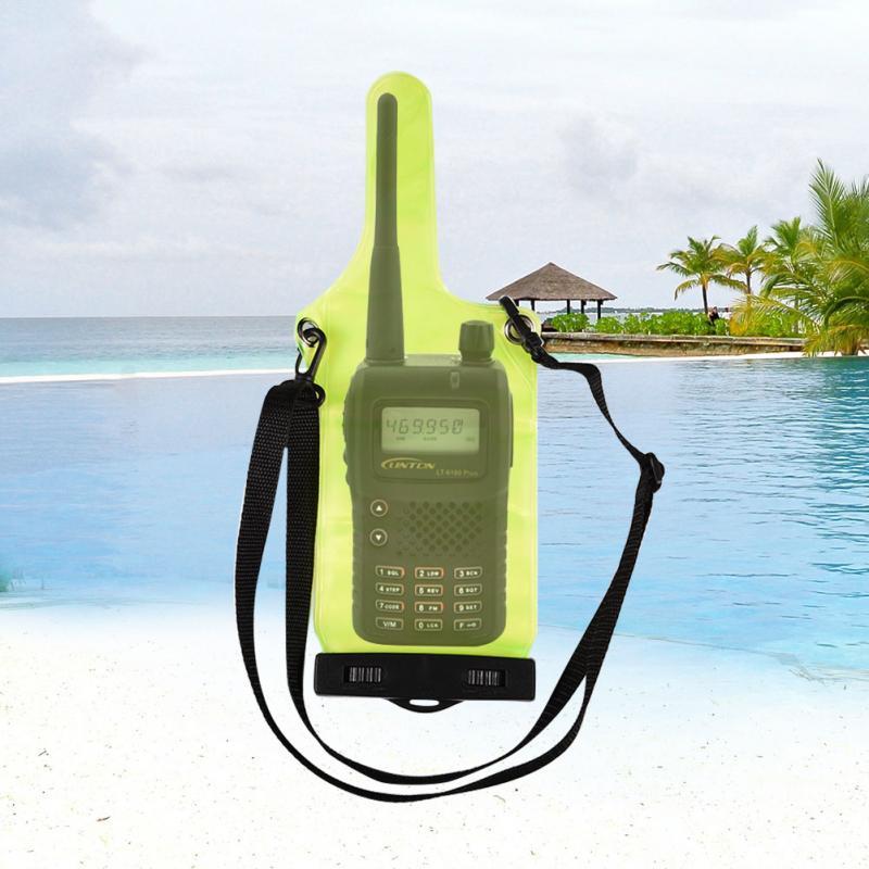 Portable Étanche Sac de Caisse de Poche pour Talkie Walkie UV5R UV82 BF 888 s UVB6 Plein Protecteur Couverture