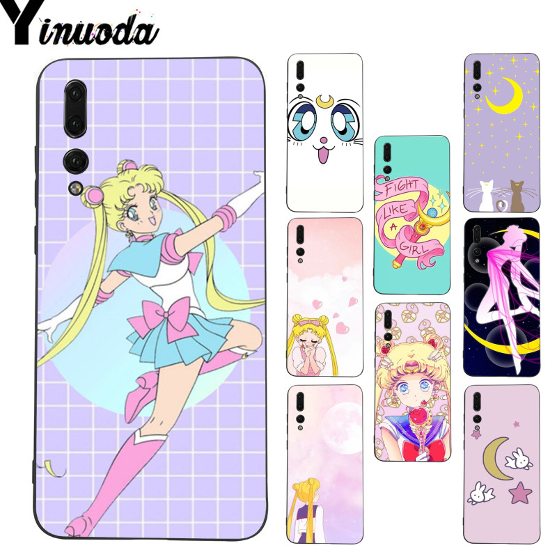 Cellphones & Telecommunications Lower Price with Yinuoda Girl Sailor Moon Anime Coque Shell Phone Case For Huawei P9 P10 Plus Mate9 10 Mate10 Lite P20 Pro Honor10 View10