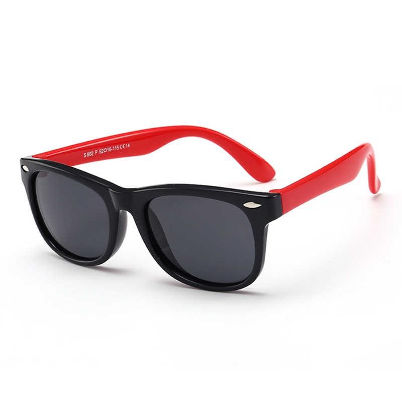 88a321516c ... Kids Rivet Classic TAC Polarized Sunglasses TR90 Flexible Safety Frame  Boy Girl Brand Design Fashion Eyewear ...