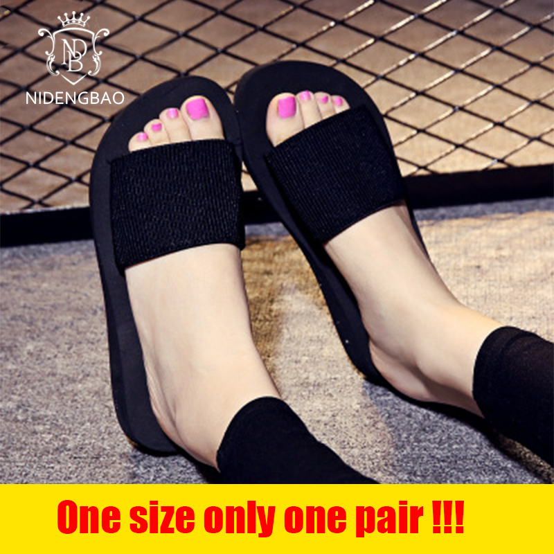 NIDENGBAO 2018 Slippers Women Summer Beach Sandals Comfortable Shoes Outdoor Fashion Thin Model Models Slippers Limited Sales mnixuan women slippers sandals summer