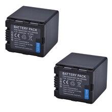 2ชิ้นแบตเตอรี่VW VBN26 VBN260แบตเตอรี่สำหรับPanasonic VW VBN26 HC X800, HC X900,พานาโซนิคVW VBN390 VBN130 HC X910 HC X920