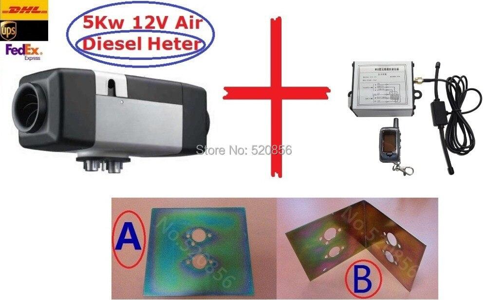 Անվճար առաքում Նորագույն 5kw 12V օդային - Ավտոմեքենաների էլեկտրոնիկա - Լուսանկար 1