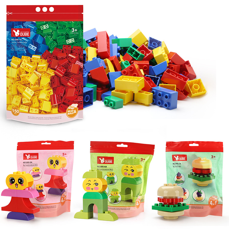 New Grain Building Blocks Animal Series Model Figures Educational Toys For Kids Children Gift Compatible Brand Duploingly Toy
