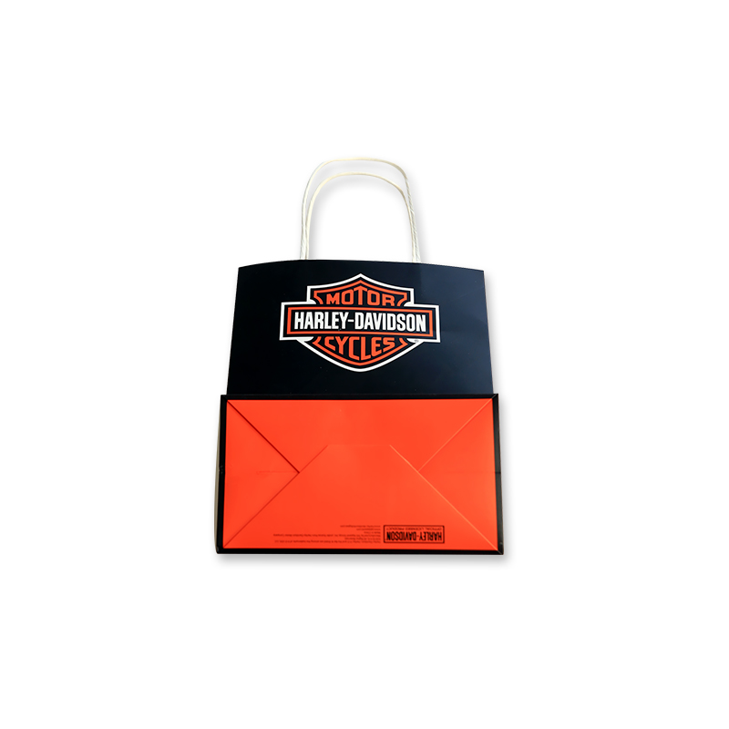 Zuoluo Recycled Custom Paper Packaging Bag For Garment/food/shopping