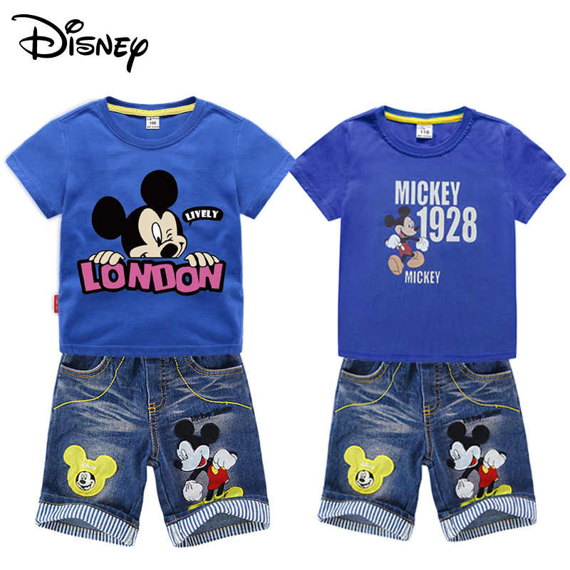 mickey mouse t shirt and shorts