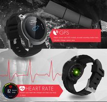 Android GPS Watch Men Women GSM GPRS Smartphone Bluetooth Smart Watches with Heart Rate Speed Tracker Running Cycling Smartwatch