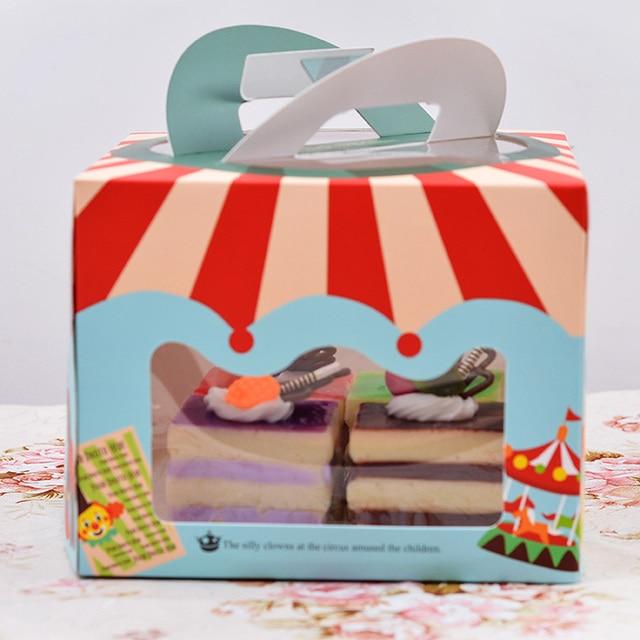 15 15 12 Cm 4 Zoll Kuchen Box Schone Kuchen Verpackung Box Tragbare