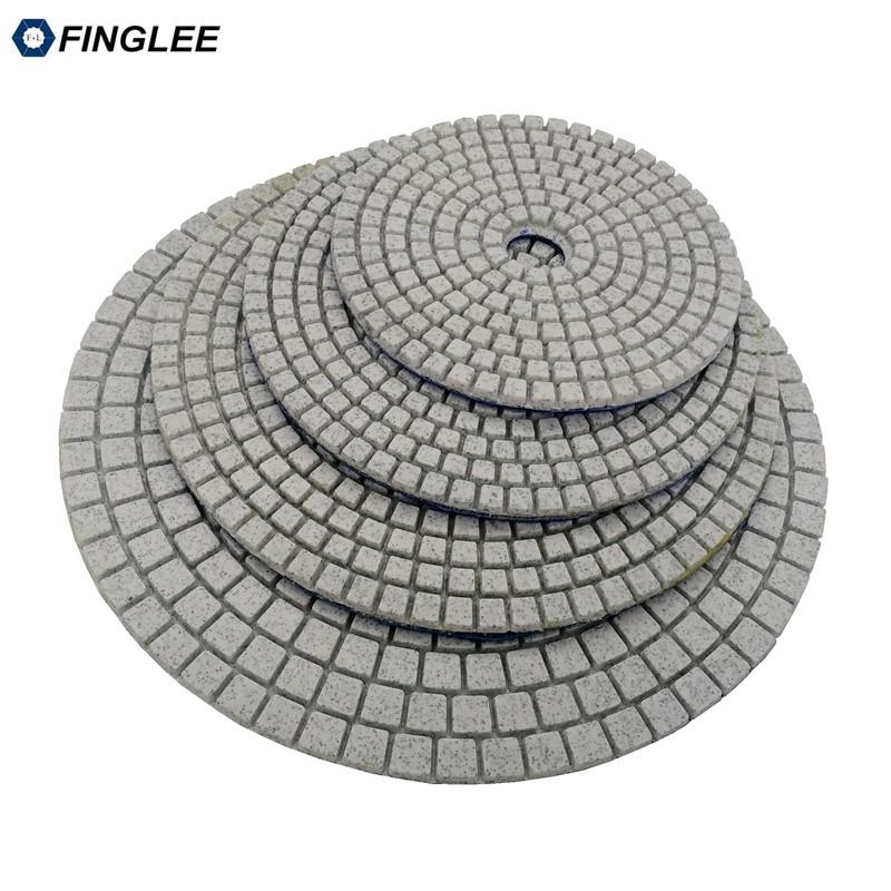 5 pz / lotto 3 pollici / 80 mm granito, marmo, cuscinetti di - Utensili elettrici - Fotografia 5