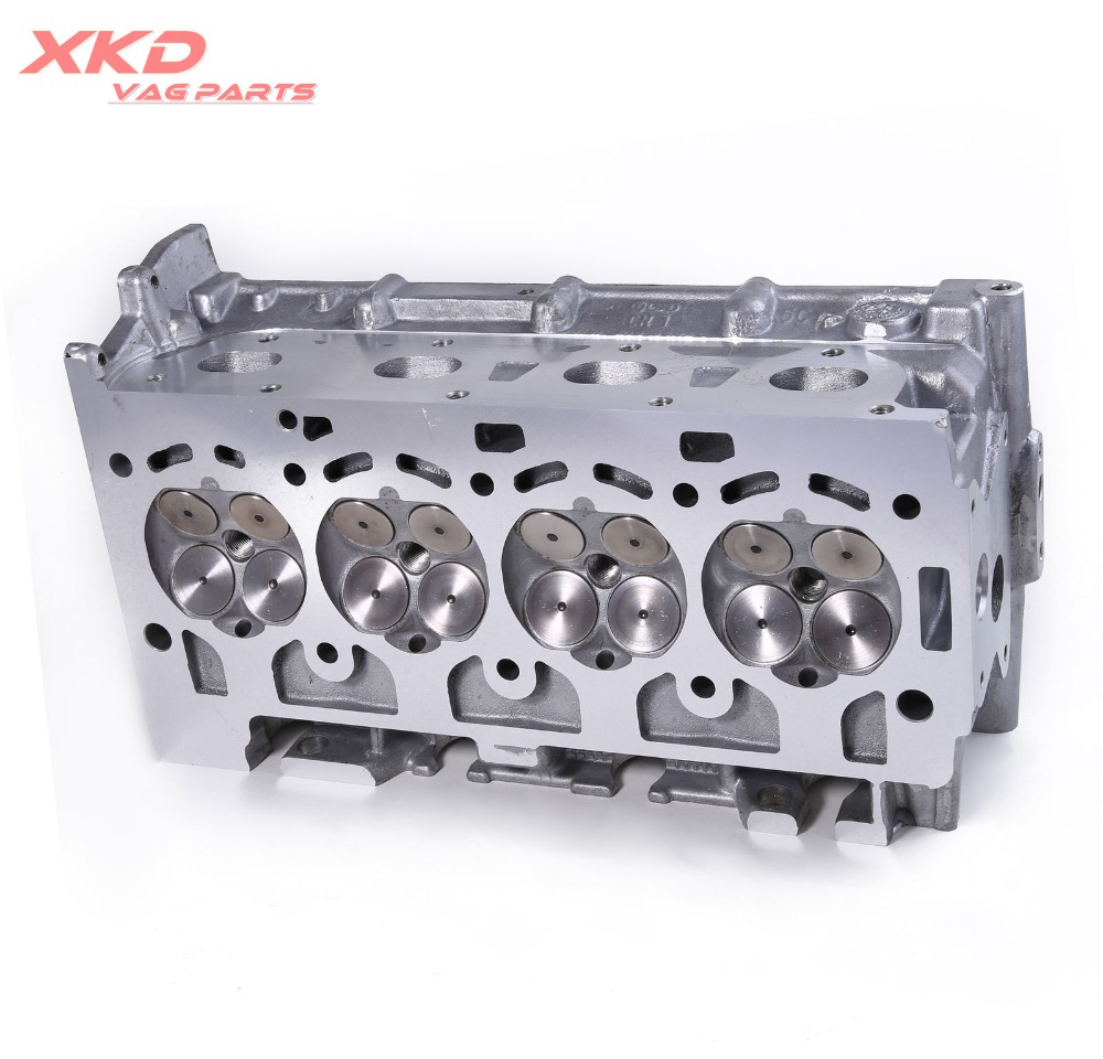 Engine Cylinder Head & Valves & Springs Assembly For VW Golf Jetta Tiguan  CC/Passat CC Beetle/Cabrio EOS 1 4T-in Cylinder Body & Parts from