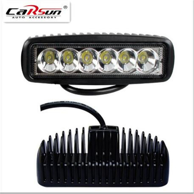 18W High Quality High Power LED Daytime Running Light Back Up Lamps Super Bright Spot/Flood Working Lights C910415