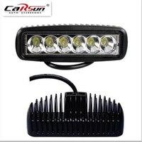 18W High Quality High Power LED Daytime Running Light Back Up Lamps Super Bright Spot Flood