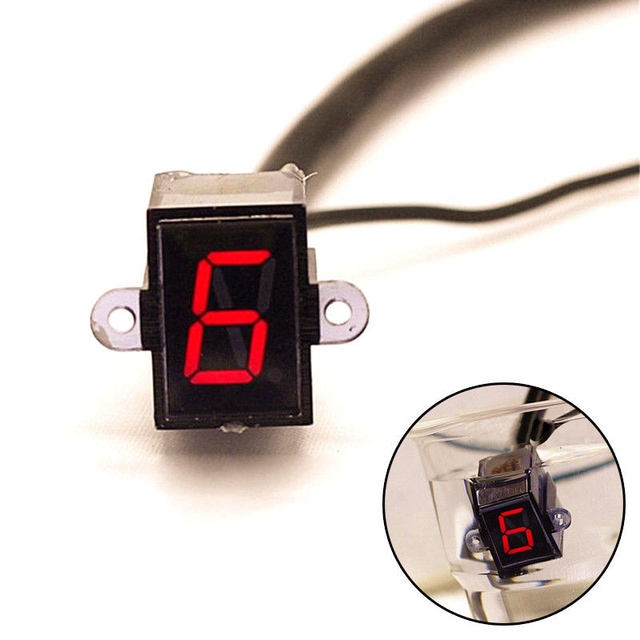 US $13 99 |12V LED Motorcycle Refit Gear Indicator Light N 6 Speed Shift  Clutch Lever Gauge-in Voltage Regulators from Automobiles & Motorcycles on