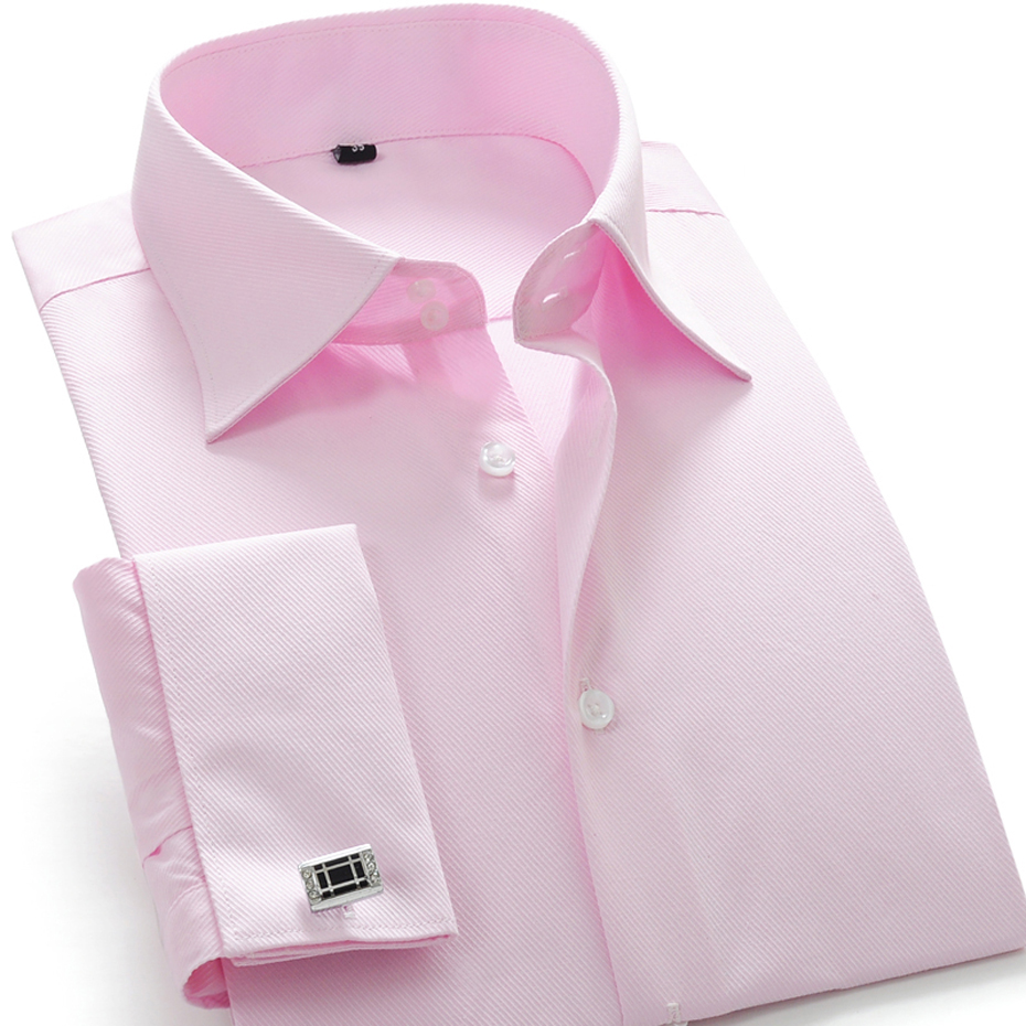 Compare Prices on Pink Slim Fit Dress Shirt for Men- Online ...