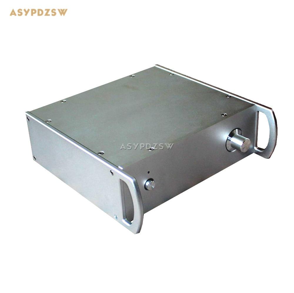WA31 Full aluminum enclosure Preamplifier chassis Tube amplifier chassis Power amplifier case 250*290*95mm cnc4309 high end amplifier enclosure cnc full aluminum preamplifier chassis dac box psu case