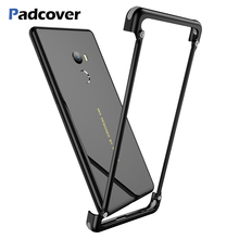 PADCOVER Original Airbag Metal Case for Xiaomi Mix 2 Luxury Bumper Full Protective Cover Mi 2s