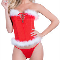 Christmas Lingerie 2017 Red Erotic Lingerie for Women Sexy Underwear Woman Red Sex Clothes Lenceria HC023