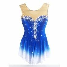 Bhzw платье для фигурного катания женское на коньках спандекс