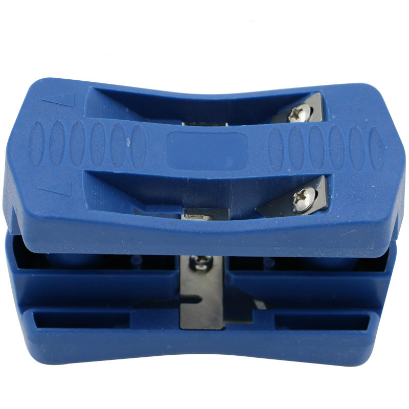 Edge Banding Machine Trimming Device Block Wood Double Edge Head Tail Trimmer for Carpenter PVC